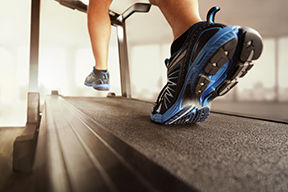 running on a treadmill represents cardio training