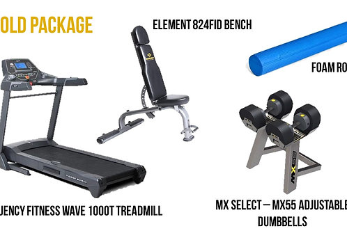 Gold Equipment Package