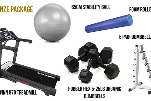 Bronze Fitness Equipment Package