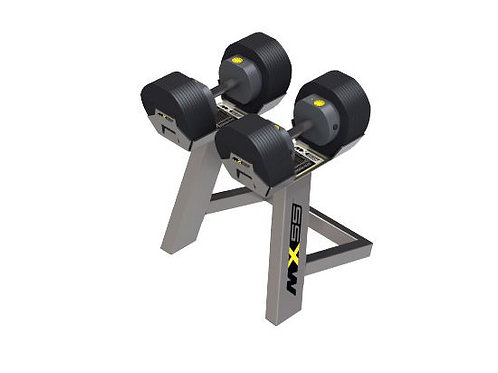 MX Select - MX55 Adjustable Dumbbells 10-55LBS (6.8-24.9KG) Sold as Pairs Only