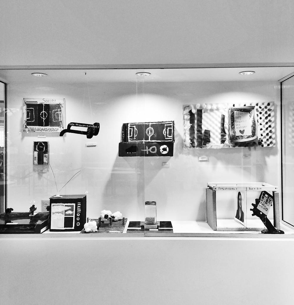 Bertelsmann Gallery exhibit of student work