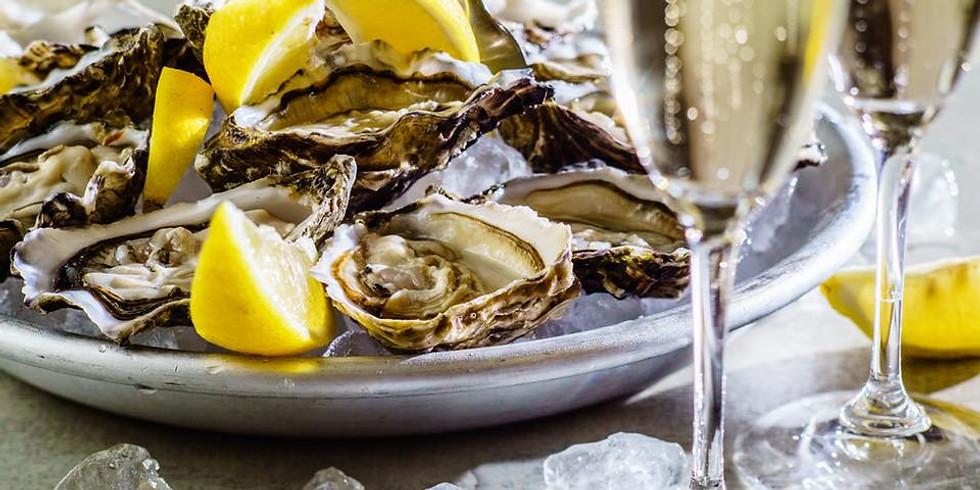 Champán y ostras: atardecer en Poniente