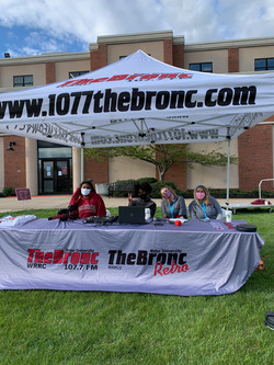 107.7 The Bronc Radio at Earth Day 2021
