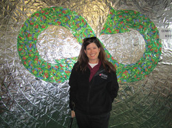 Director of Sustainability, Melissa Greenberg, at 2011 Terracycle Event