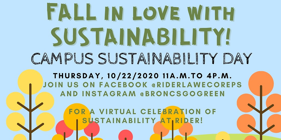 Campus Sustainability Day 2020