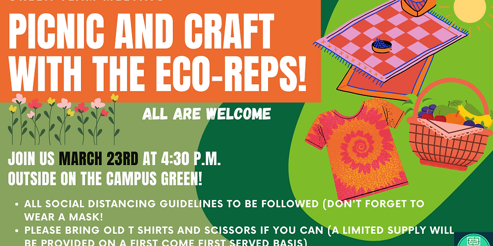Picnic and Craft with the Eco Reps