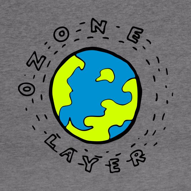 Ozone layer cartoon