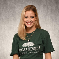 Former Eco-Rep Alison Fisher ('20)
