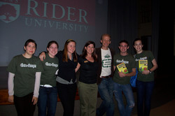 Campus Sustainability Day 2009 with Josh & Rebecca Tickell