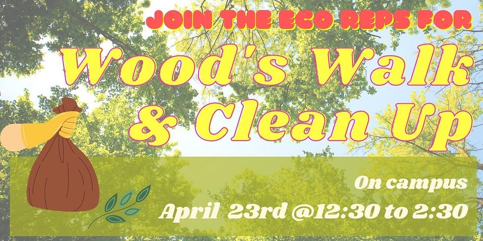 Woods Walk & Clean-Up