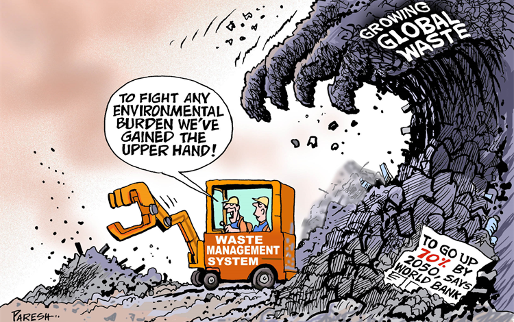 Waste Management System believes they have global waste under control but it is expanding too rapidly for them to manage