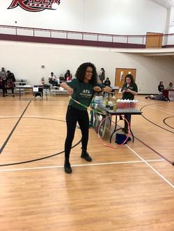 Hula hooping it up at Earth Day 2018