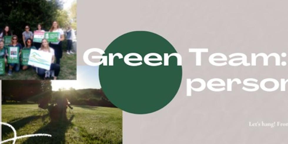 Green Team Meeting