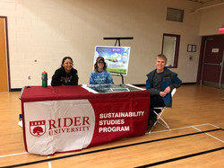 Sustainability Studies Table at Earth Day 2018