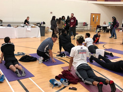 Yoga Class at Earth Day 2018