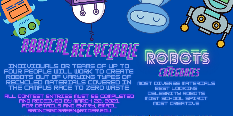 Radical Recycled Robot Pals