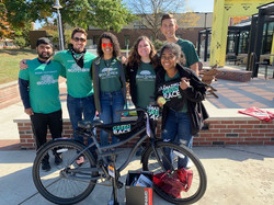 Rider Eco Reps at the Amazing Green Race