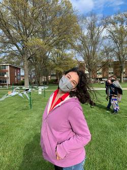 Danielle, GA for Sustainability 2020-2021 at Earth Day 2021