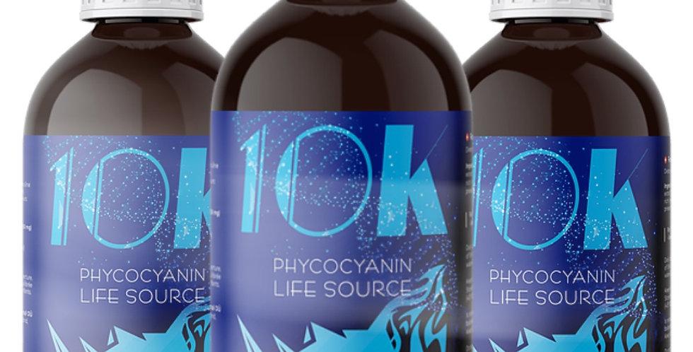 Cure 3 mois 10K - PHYCOCYANINE PUR ET PUISSANTE