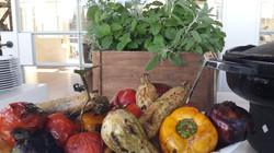 ירקות על הגריל