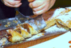 שטרודל תפוחי עץ וינאי - קייטרינג