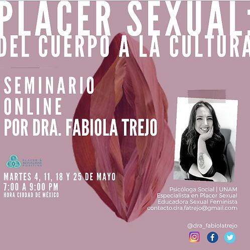 Seminario Placer sexual: del cuerpo a la cultura