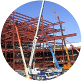 duggan steel specialists in structural steel, metal decking and cladding works steel erection