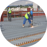 duggan steel specialists in structural steel, metal decking and cladding works metal decking and studding