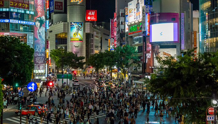 Passion Brand | Brand insight from Middle East Africa and India Shibuya Crossing
