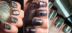 Мраморный дизайн ногтей - 2018
