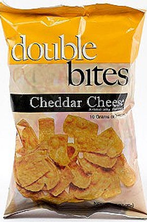 DoubleBites Cheddar Cheese Snack Pack