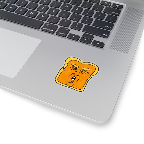 Ugly TOAST! Sticker