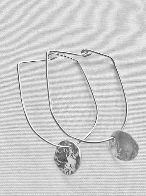 Reticulated Mini Disc Earrings