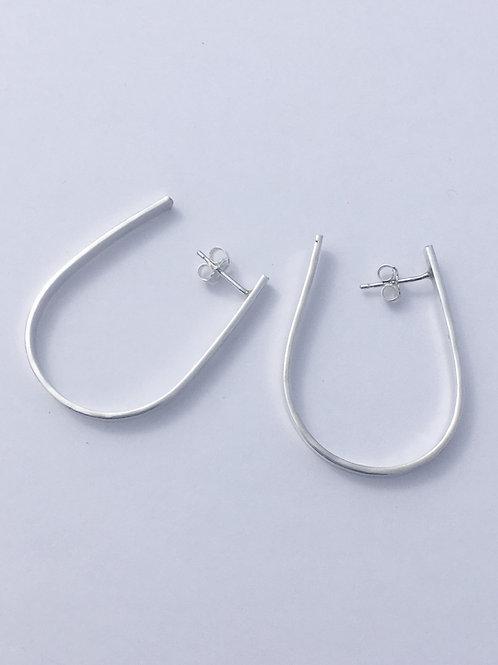 Sterling Silver Wrap Earrings