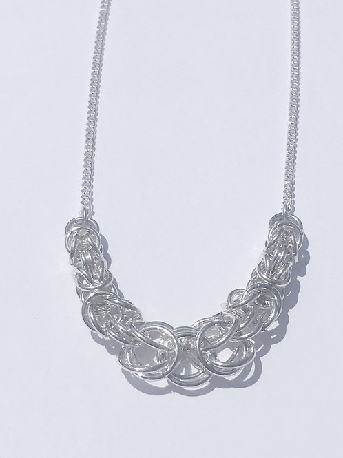 Sterling Silver Byzantine Necklace