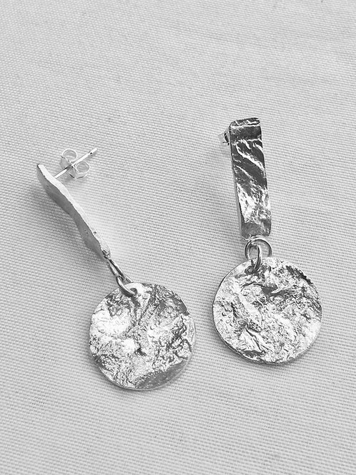 Reticulated Sterling Silver Marie Studs