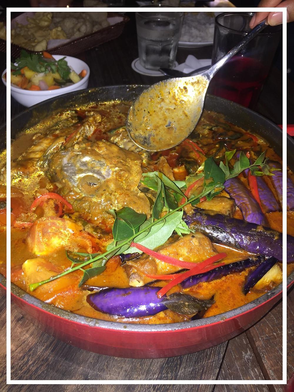 Fish-Head Curry amazingness. Best of my life.
