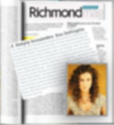 Eva DeVirgilis Featured in Richmond Maga