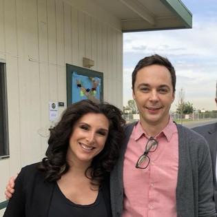 Jim Parson' and Eva Celebrate Unity in Los Angeles