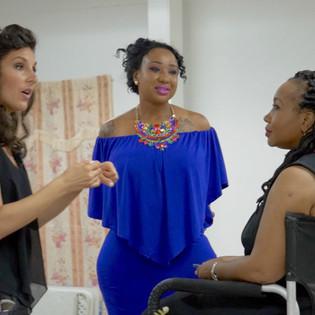 Eva DeVirgilils Speaking in Nevis