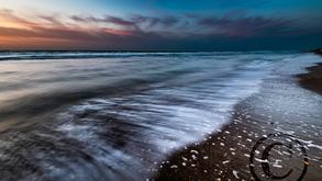 Vossenslag Strand Avond