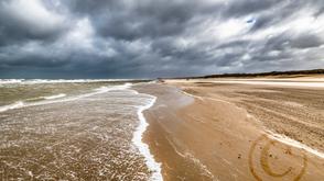De Haan Strand Wolken
