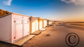 Wenduine Strandcabinetjes