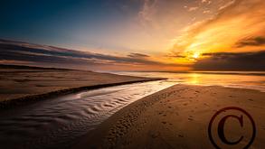 De Haan Water Sunset