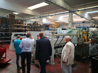 IWG tours Italian facility