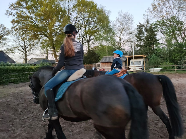 Paardrijden 1