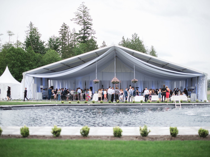 Structure Tent Private Wedding