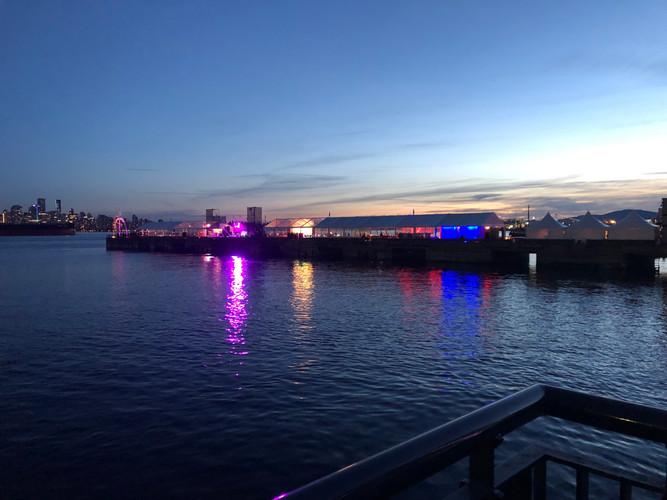 Festival North Vancouver Pier