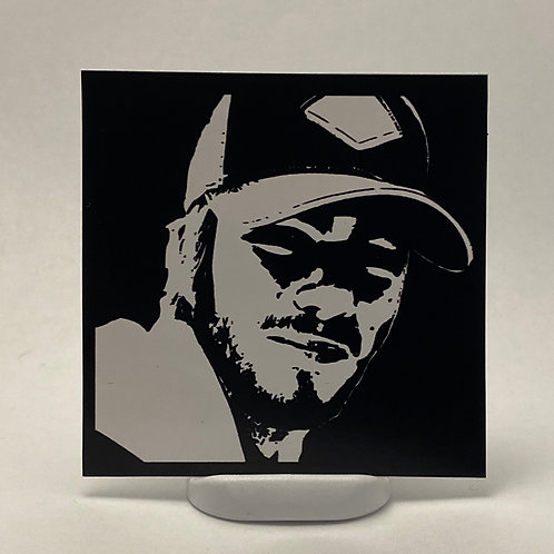 Andy Vinyl Sticker