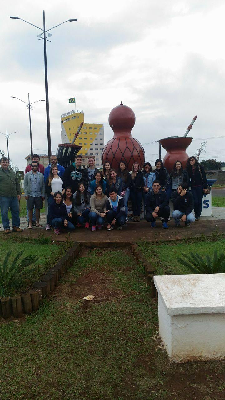 Visita técnica a Ponta Porã com o PET Geografia